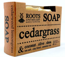 Roots Apothecary Cedargrass Soap