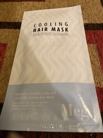 Cooling hair mask
