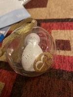 Snowman makeup sponge