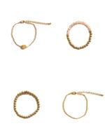 Lily Sky 4-piece Layering Bracelet Set