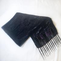Suzy Shier Viscose Velvet Sparkly Scarf