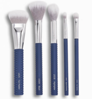 LARUCE BEAUTY Cheek & Eyes Brush Set in Denim Blue