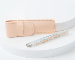 Summer & Rose Rose Tweezer with Pouch