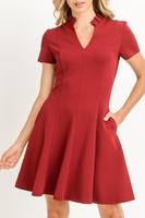 Gilli Ruffle Collar Dress