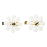 EACH Jewels Flower Hair Clips – 2 Pack