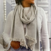 Tribe Alive Up-cycled Denim Scarf