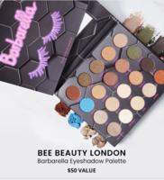 Beebeauty London - Barbarella Eyeshadow Palette