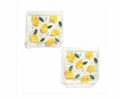 Grove Collaborative Lemon Design Reusable Sandwich Bags