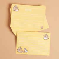 Pusheen Recipe Cards