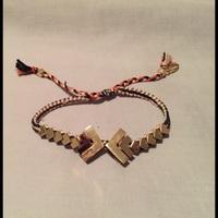 Ettika Gold Geometric Bracelet