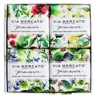 """Via Mercato Primavera Shea Butter Soap in """"Fresh Herbs"""""""