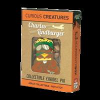 """Curiosity Box Charles """"Lindburger"""" Pin"""