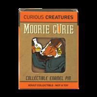"Curiosity Box ""Moorie"" Curie Pin"
