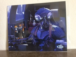 Chris Bartlett (Zero) Autographed Photo Mandalorian Star Wars