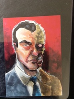 Two-Face Artist Select BAM! Card Batman