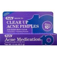 Rugby Acne Medication 10% Benzoyl Peroxide Gel