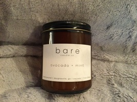 Bare Candle Co. Avocado and Mint Candle