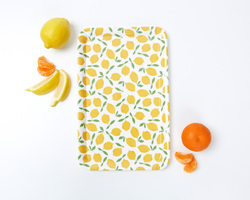 To The Market Melamine Lemon Printed Tray