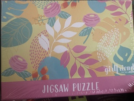 Relax & Radiate Floral Jigsaw Puzzle