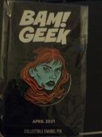 Poison Ivy Batman BAM! Pin