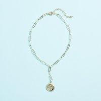 Melinda Maria Star Lariat Necklace