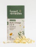 Forest Remedies Plant-Based Multi Omega 3-6-9 Soft Gels