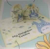 Totoro floral cloth wrap