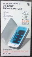 Sharper Image UV Zone Phone Sanitizer / Charger