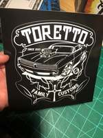 Fast and Furious F9 sticker