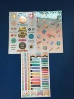 Sticker Sheet Trio