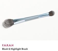 F.a.r.a.h blush and highlight brush