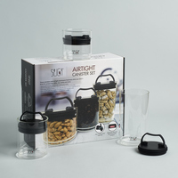 That! Inventions Airtight Canisters, set of 3