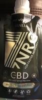NRG Post Workout Vanilla 25mg CBD Infused Whey Protein Shake