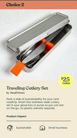 Traveling Cutlery Set
