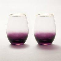 ANNA New York Amethyst Ombre Wine Glasses