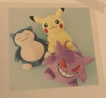 Pokémon tissue holder plush