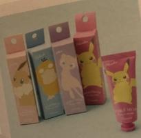 Pokémon hand cream