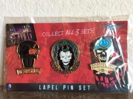 Suicide Squad Enamel Pin 3 Pack QM