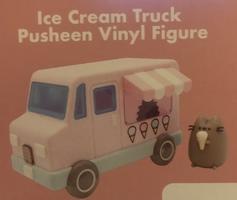Pusheen ice cream truck figure