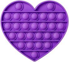 Everest Purple Heart Push Pop Bubble Fidget Toy [Toys, Ages 3+]