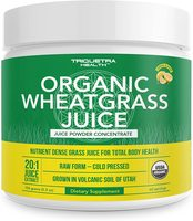 Organic Wheatgrass Juice Powder - Organic Lemon Flavor