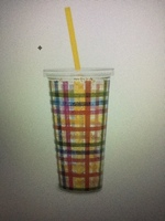 Deluxe Sip Sip Tumbler with Straw