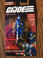 "G.I. Joe 2.5"" Cobra Commander Figure"