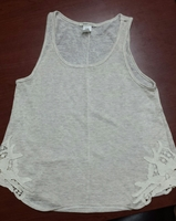 A-line Tank with Crochet Applique