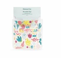 Grove Collaborative Reusable Bag Set - Limited Edition - Earth Month Design