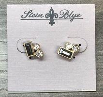 Stein & Blye Delicate Crystal Earrings