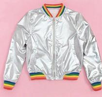 "Ban.do Bando Bomber Jacket ""Rainbow Roller"""