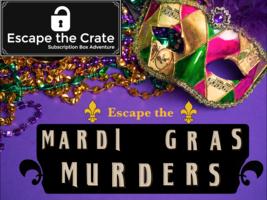 Mardi Gras Murders crate