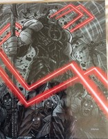Justice League Art Print Signed by Artist