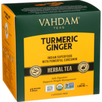 Vahdam Turmeric Ginger Herbal Tea